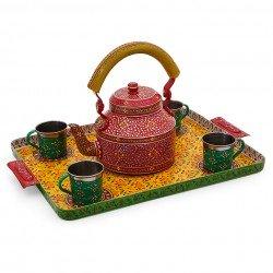 KAUSHALAM TEA SET: ROYAL