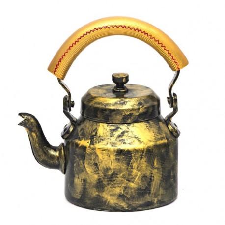 KAUSHALAM TEA SET : ANTIQUA BLACK