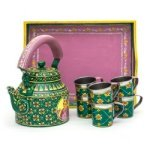 KAUSHALAM TEA SET: KING - QUEEN