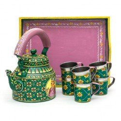 KAUSHALAM TEA SET: KING - QUEEN