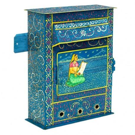 KAUSHALAM HAND PAINTED LETTER BOX MEDIUM