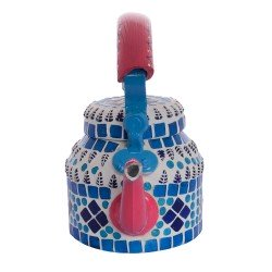 KAUSHALAM MOSAIC TEA KETTLE SMALL: BLUE