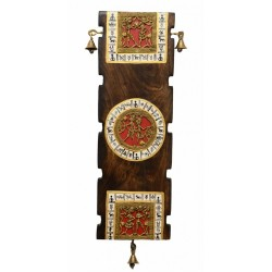 Wooden Bastar Art Dokra Wall Hanging
