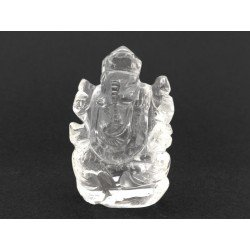 20.24 gms Natural Crystal Ganesha
