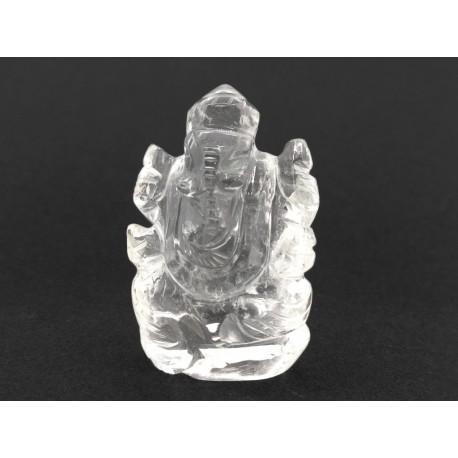 20.24 gms Natural Crystal Ganesha