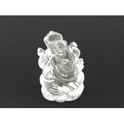18.02 gms Natural Crystal Ganesha