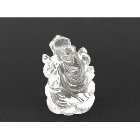 18.02 gms Natural Crystal Ganesha