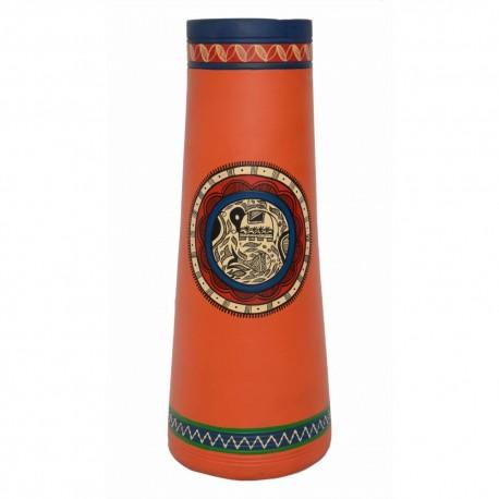 Bastar Art Terracotta Vase