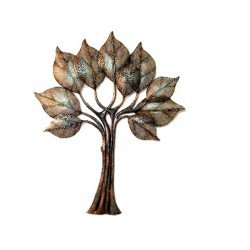 Wrought Iron Tree Wall Décor With LED