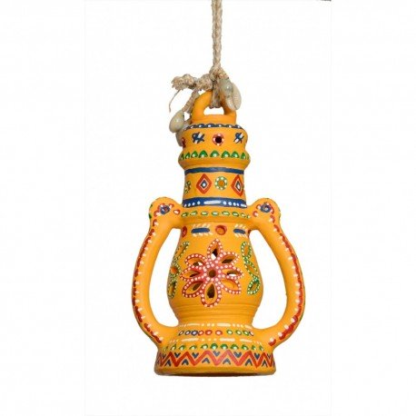 Painted Terracotta Lantern