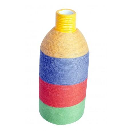 Terracotta Multicolour Vase