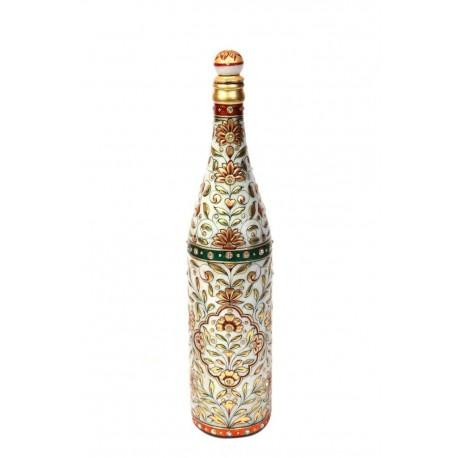 22ct Gold Paint Marble Decorative Bottle