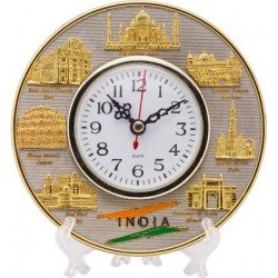 Indian Monuments Analog Desk Clock
