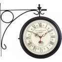 Analog Wall Clock Station Clock Antique Style