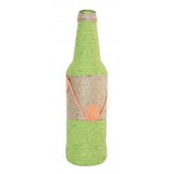Decorative Green Twine Wrapped Bottle
