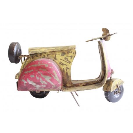 Decorative Metal Antique Scooter Showpiece Miniature