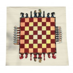 Handmade Cloth Chess Board Game