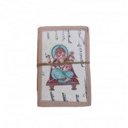 Handmade Ganesha Painting Diary Khata Notebook