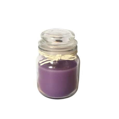 Small Round Jar Scented Lavender Candles Pack of Three