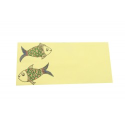 Madhubani Art Set of 10 Envelopes