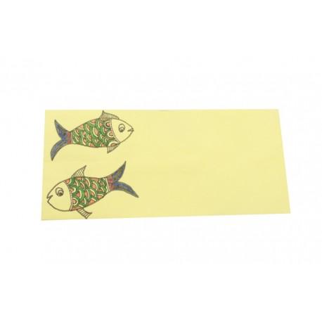 Madhubani Art Set of 10 Envelopes