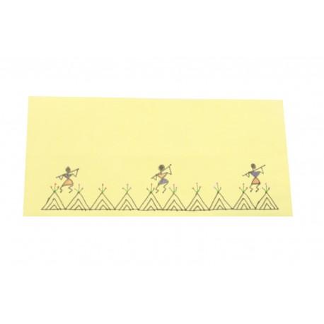 Warli Art Design Set of 10 Envelopes
