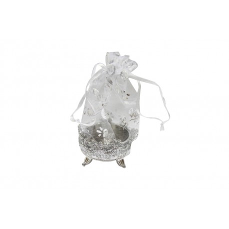 Silver Pouch Box With 20 Grams Pure Silver Coin 999 Purity