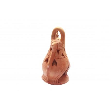 Clay/ Terracotta Lantern Tealight Holder Hanging Tealight