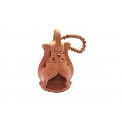 Clay/ Terracotta Lantern Tealight Holder Hanging Tealight