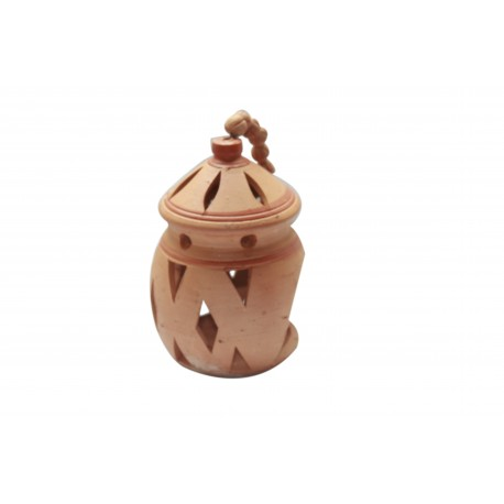 Clay/Terracotta Hanging Tealight Candle Diya Holder