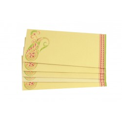 Tradtional Ethnic Design Paper Money Envelope Set of 5
