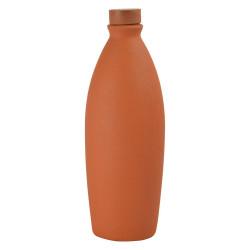 Terracotta Water Bottle 1 Ltr Bottle Clay Water Bottle