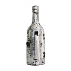 Wooden Painted Antique Design Bottle Shape Tissue Holder