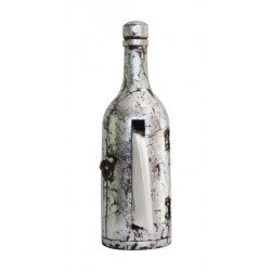 Wooden Painted Antique Design Bottle Shape Tissue Holder