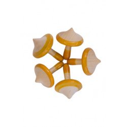 Wooden Spinning Top Lattoo
