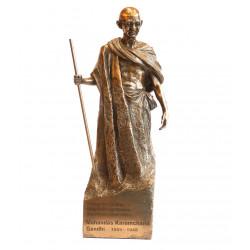 Porcelain Mahatma Gandhi Statue Figurine Souvenir