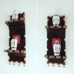 Decorative Wooden Warli Art Wall Shelf With Decorative Wooden Warli Pot