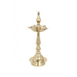 """Brass Kerala Deepa Diya 12 """""""
