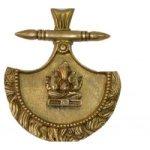 Lord Ganesha Brass Wall Hanging