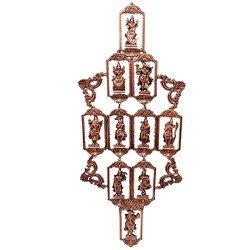 Brass Dashavtar Dashavataar Wall Hanging Wall Decor