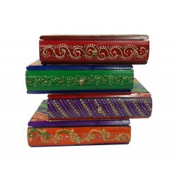 Wooden Handpainted Chest Of Drawers Decorative Box Jewellery Box