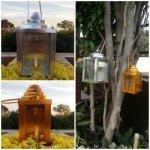 Set Of Two Decorative Metal Diwali Tea Light Candle Holders/ Hanging Tea Light Candle Holder/ Tea Light Holder For Diwali