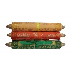 Handmade Colourful Message Scroll/ Customized Blank Message scroll Pack of Three