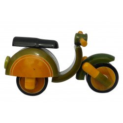 Channapatna Craft Miniature Scooter Showpiece Decorative Gift