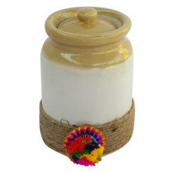 Decorative Traditional Ceramic Barni Jar Set Of Two