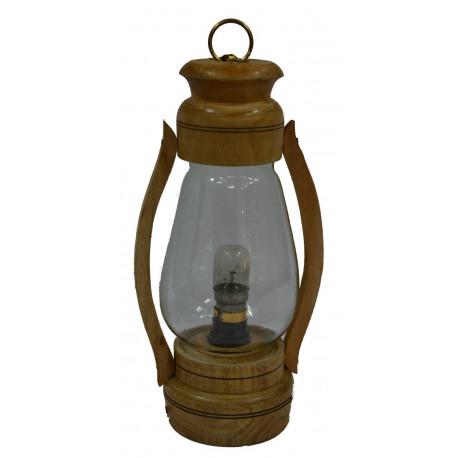 Vintage Style Wooden Electric Lantern/ Decorative Lantern