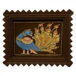 Peacock Tanjore Painting