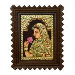 "Maharani Tanjore Painting With Frame 6"" x 8"""