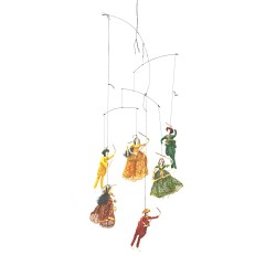Babla Hanging Puppet Set of 6