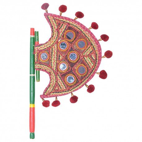 Traditional Cloth Hand Fan